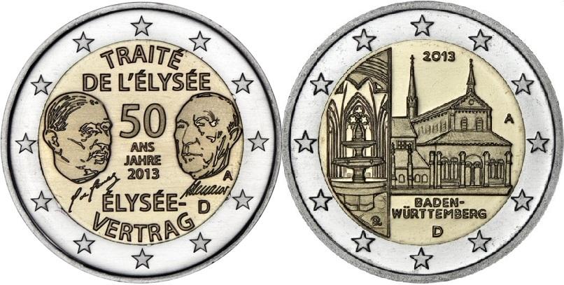 2 euro cc 2013 alemania