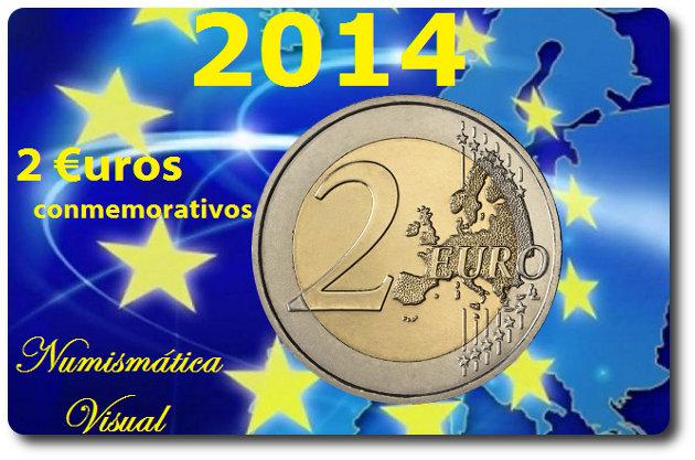 Resumen en imágenes de la coleccion de 2 euros conmemorativos 2euros2014
