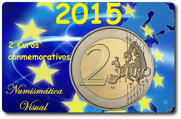 Resumen en imágenes de la coleccion de 2 euros conmemorativos 20151