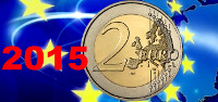 2 euros conmemorativos 2015