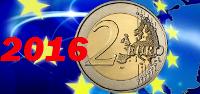 2 euros conmemorativos 2016